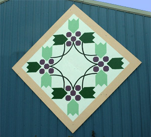 Schwenk Wine Cellars is a participant in the Country Barn Quilt Trail of Western New York